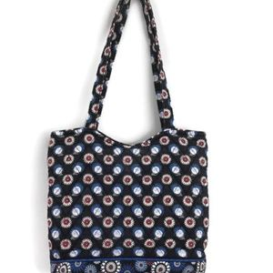 VERA BRADLEY Black Handbag Purse - Night Owl